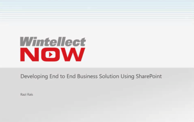 Developing Business Solutions in SharePoint Online Course