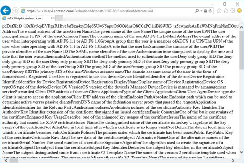 adfs metadata xml