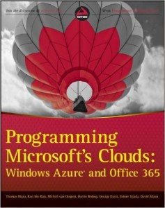 Programming Microsoft's Cloud
